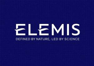 ELEMIS Master Logo+ Strapline (White)